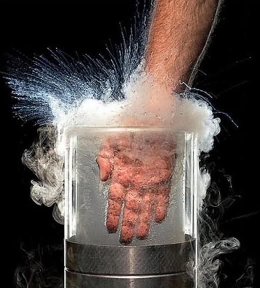 жидкий азот для заморозки металла многих
