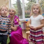 Рапунцель и пиратка в детском саду у милой Евы 004