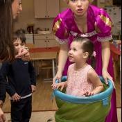 Рапунцель и пиратка в детском саду у милой Евы 005
