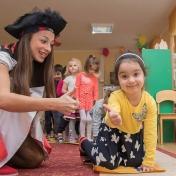 Рапунцель и пиратка в детском саду у милой Евы 006