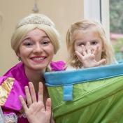 Рапунцель и пиратка в детском саду у милой Евы