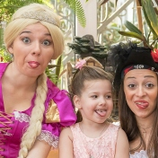 Рапунцель и пиратка в детском саду у милой Евы 012