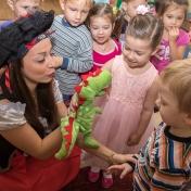 Рапунцель и пиратка в детском саду у милой Евы 013