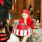 Пиратский день рождения у Анфисы, сентябрь 2017