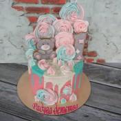 Праздничный торт 2018 008