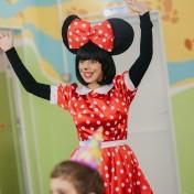 Минни и Микки в детском саду 009