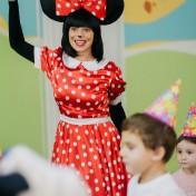 Минни и Микки в детском саду 010
