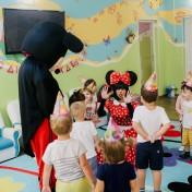 Минни и Микки в детском саду 013