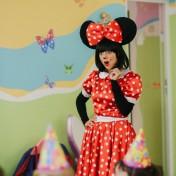 Минни и Микки в детском саду 014
