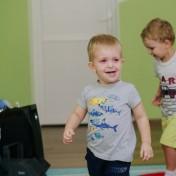 Минни и Микки в детском саду 031