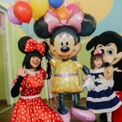 Минни и Микки в детском саду 044