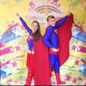 Супермен и Супергёрл, фото 1
